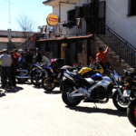 Bikers in Navasfrías