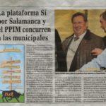 Platform if MPRP attend Salamanca and municipal elections