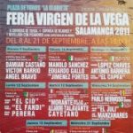 "Salamanca Party Poster 2011, Bullring ""The gazebo"""