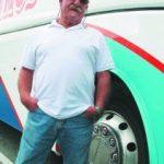 Manolo Ramos Conductor de autobuses jubilado que disfruta de la vida. Nuestro interlocutor es un irundarra que nació en Salamanca y que aquí ha echado raíces personales y profesionales