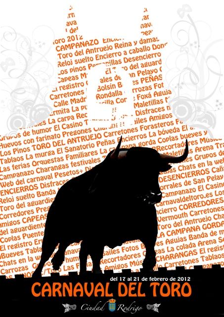 Navasfrias - Carnaval de Ciudad Rodrigo ya tiene cartel ara las fiestas 2012