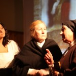Fuenteguinaldo and The Bodón, well received at the premiere of the play Heroines Limited