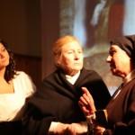 Navasfrias - Fuenteguinaldo y El Bodón, buena acogida en el estreno de la obra teatral Heroínas Anónimas