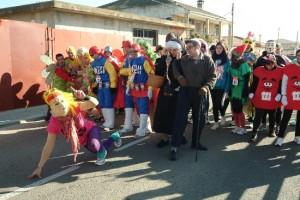 Navasfrias - Ciudad Rodrigo, carnaval del toro la carrera Cross del Carnaval