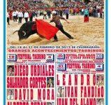 Navasfrias - Carnaval del toro cartel presentación de los festivales taurinos para el carnaval de Ciudad Rodrigo