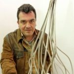 David Caesar, Sculptor and Neighbor of Navasfrías exhibe chrome 'Landscapes of Mountain and Water'