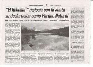 Navasfrias - La propuesta de convertir el Rebollar en parque nacional no va por buen camino