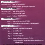 Navasfrías PROGRAM OF ACTIVITIES 2012
