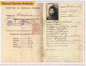 Navasfrias - Homenaje a Manuel Ramos Andrade