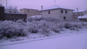 Navasfrias - Pequeño video de la nevada del lunes 21 enero en navasfrias