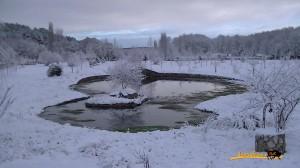 Navasfrias - Video nevada zona recreativa el Bardal y alrededores