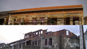Navasfrias - Cerrada la cubierta obras Centro Multifuncional
