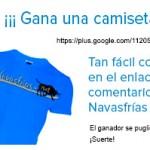Get your FREE Navasfrías shirt !!!!!