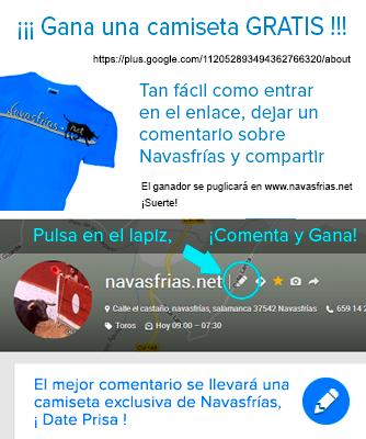 camiseta de navasfrias