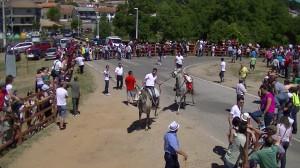 Navasfrias - Navasfrias San Juan 2013, encierro sabado