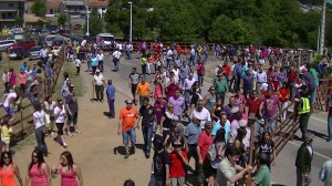 Video summary of the festival of San Juan 2013