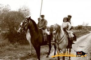 Navasfrias - Ruta de los contrabandistas, a caballo.