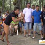 Navasfrias campeonato de rana 2013 Bardal