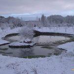 Frio intenso en Navasfrias