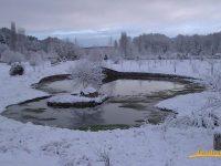 Navasfrias - Frio intenso en Navasfrias