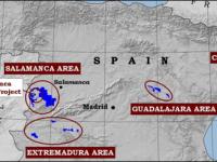 Navasfrias - Marcha senderista contra las minas de Uranio