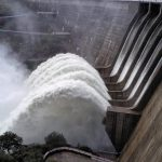 Río Águeda se desborda