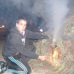 Navasfrias hoguera de San Juan 2014