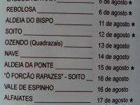 Navasfrias - Primeras capeas arraianas 2014