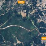 Carretera Navasfrias y frontera portuguesa