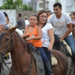 Invitación a convivencia con caballos. Asociacion Santiago Apostol y A revolera