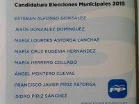 Navasfrias - Programa electoral PP. Navasfrias