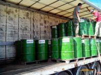 Navasfrias - Navasfrias  salen las primeras toneladas de resina