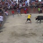 Aldeia do Bispo 2015 Catching bull test