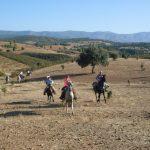 "Nueva ruta a caballo "" A Revolera """