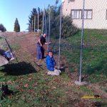 Navasfrias Zona para deportes Valla Colegio