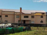 Navasfrias - Terminada cubierta centro escolar Navasfrias