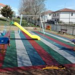 Terminado parque infantil Navasfrias 2016
