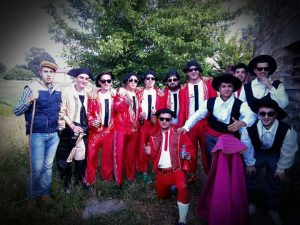 Goblins and their performance in Navasfrias Party S.Juan 2016