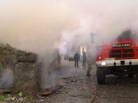 Navasfrias - Navasfrias incendio de una vivienda