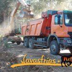 road Navasfrias- Valverde del Fresno   ( Opening)