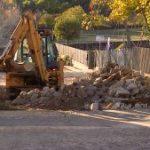 Navasfrias continúan obras en calles