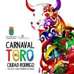 Carnaval del toro de Ciudad Rodrigo, toros encierro a caballo 2018