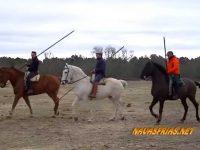 Navasfrias - Carnaval del toro Ciudad Rodrigo 2018 – Vídeo del Encierro a caballo del Domingo