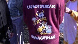 Navasfrias - Navasfrias carnaval 2018 los Derrengaos