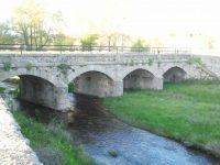 Navasfrias - Crecida del río Águeda a su paso por Navasfrías