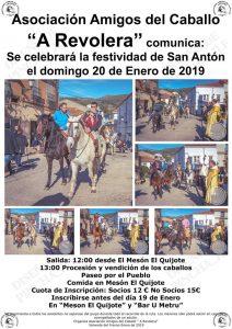 cartel Romería San Anton