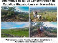 Navasfrias - VII Concentración a caballo Hispano Lusa