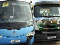 Navasfrias - Accidente cruce de Bodón